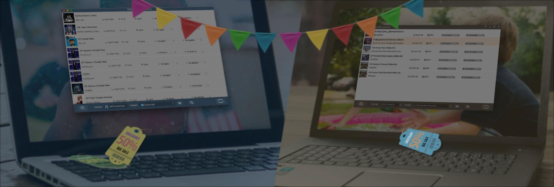 DRmare M4V Converte for Mac 2.1.2 破解版 - iTunes M4V视频格式转换工具