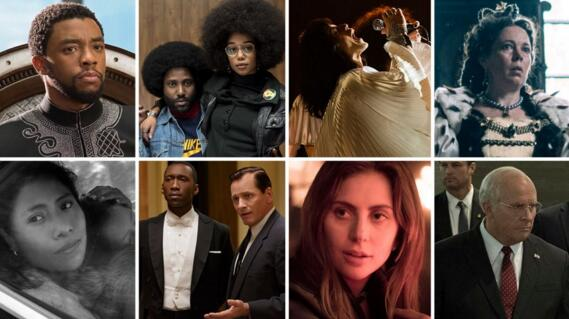 2019 Oscar Nominees - How to Stream the Nominated Movies Online