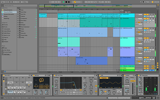 ableton music producing software
