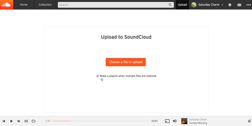 upload spotify to soundcloud