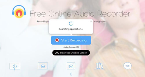 apowersoft free online audio recorder to rip tidal music