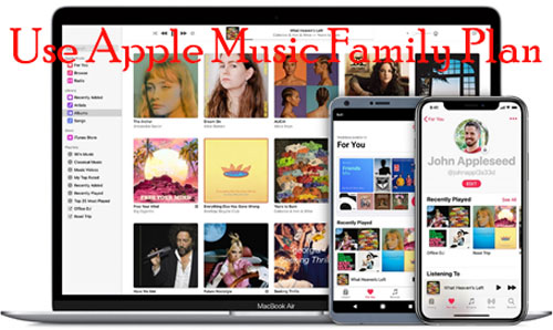 how to use apple music family plan