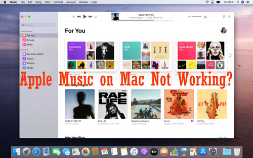fix apple music on mac not working