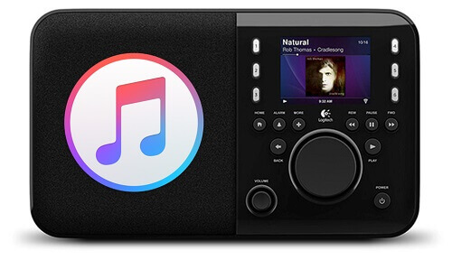 stream apple music to squeezebox