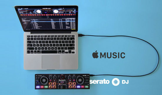 apple music in serato dj