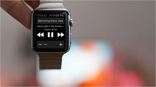 audible for apple watch