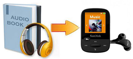 audible to sandisk player