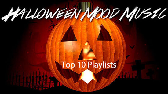 best halloween music playlists