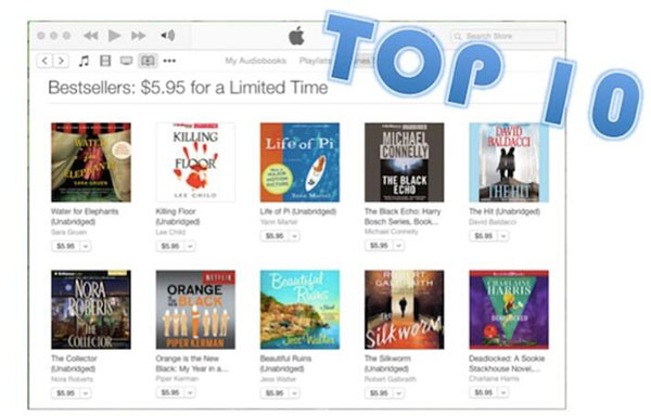 26523798f86 Top Best Selling Audiobooks from iTunes Store in 2018