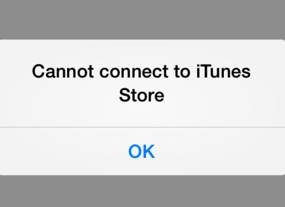 can't connect to itunes store