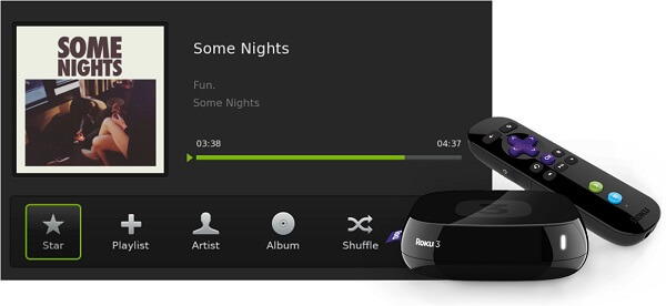 Best Alternative Way to Stream Spotify to Roku