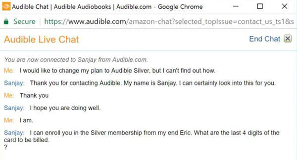 audible silver membership