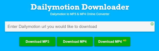 How to Capture Music from Dailymotion Video to MP3