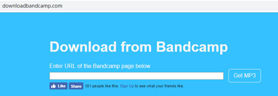 download music from bandcamp