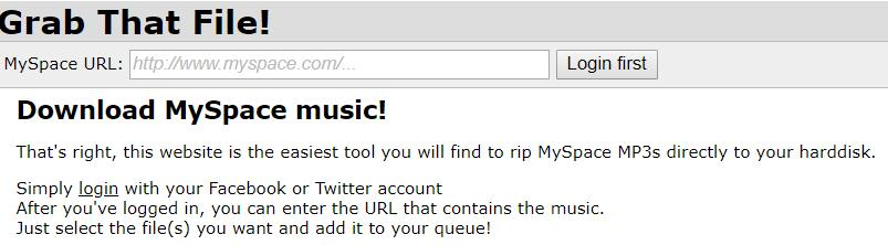Top 3 Best Ways to Download MySpace Music