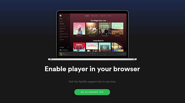 Full Tutorial on Spotify Web Player Not Working [Fixed]