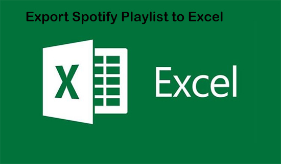 export spotify playlist to excel