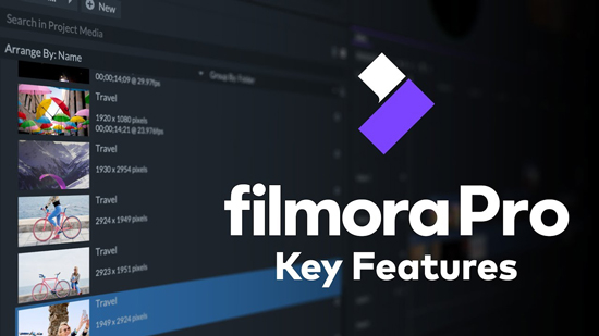 filmorapro music creation
