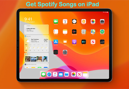 get spotify songs on ipad