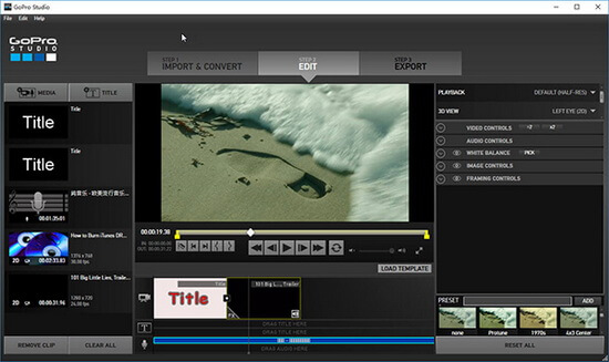 How to Edit iTunes M4V Movies on GoPro Studio