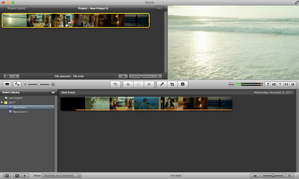 imovie edit video