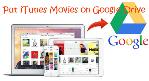 how to put itunes movies on google drive