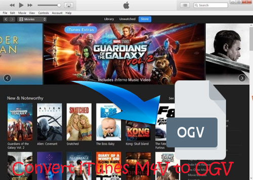 convert itunes m4v to ogv format
