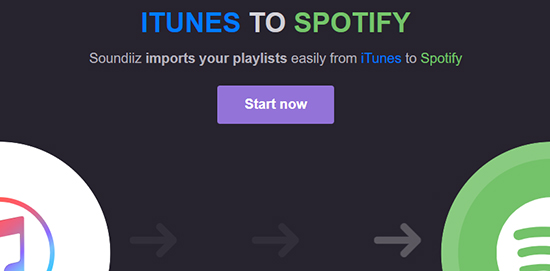 add itunes songs to spotify