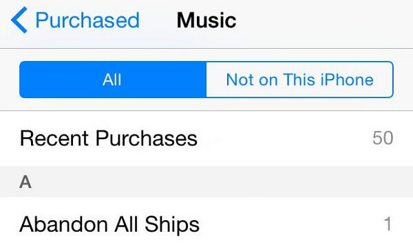 itunes purchase history on iphone how to view itunes purchase history easily 17761
