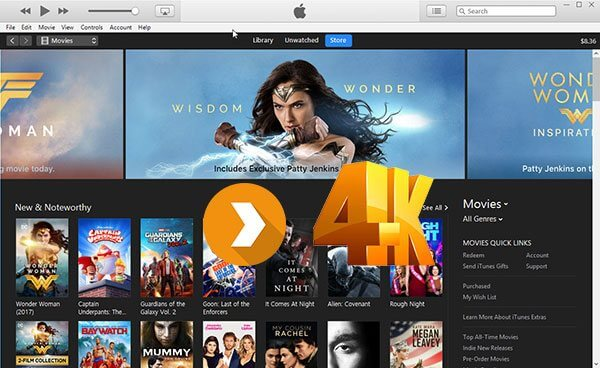 Solved] Best Guide to Convert iTunes Movies to 4K Files