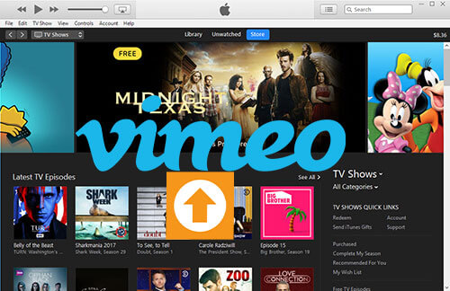 How to Share Protected iTunes M4V Videos to Vimeo