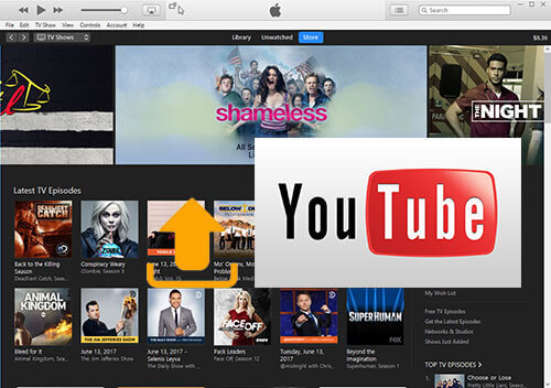 upload iTunes video to YouTube