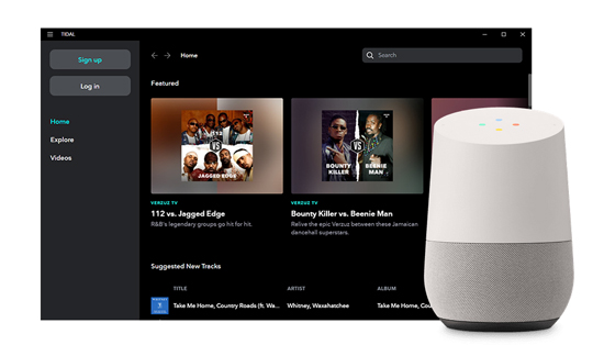 link tiadl to google home
