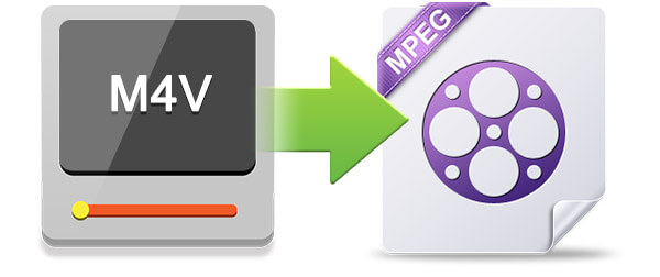 convert m4v to mpeg