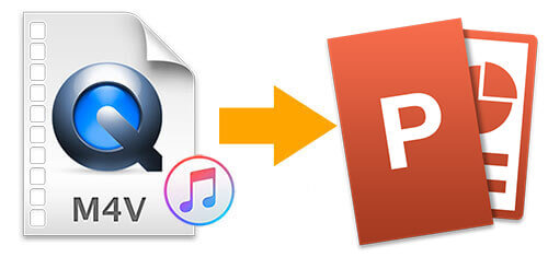 itunes m4v to ppt