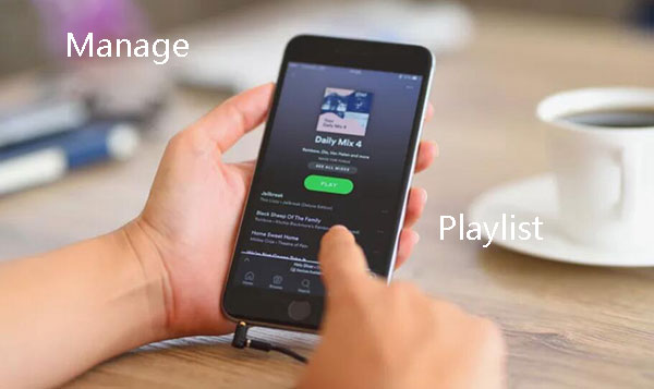 Spotify Playlist Manager - Organize Your Music Smartly