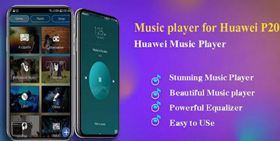 play spotify on huawei p20