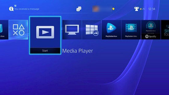 playstation media player
