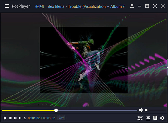 potplayer spotify visualizer