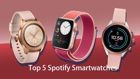 Smartwatch Spotify Offline