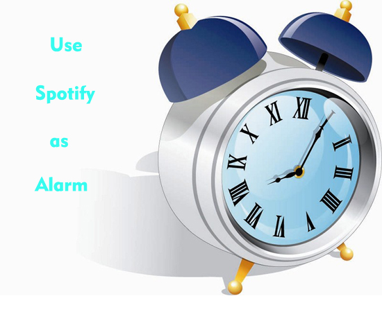 set spotify as alarm