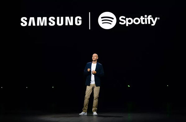 spotify and samsung partnership