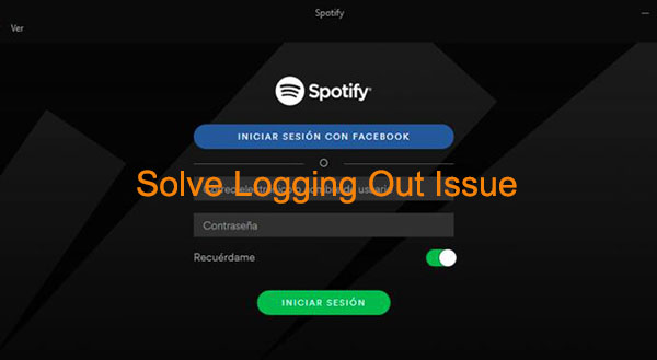 spotify keeps logging me out