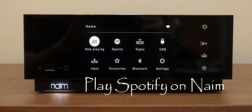 play spotify on naim
