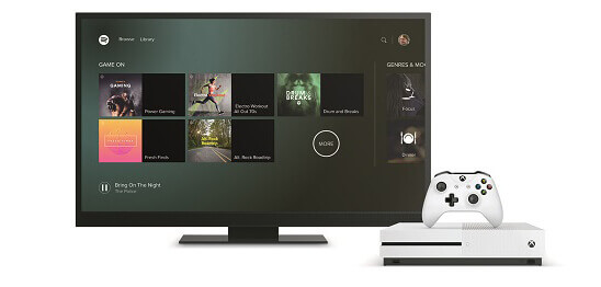 stream spotify on xbox