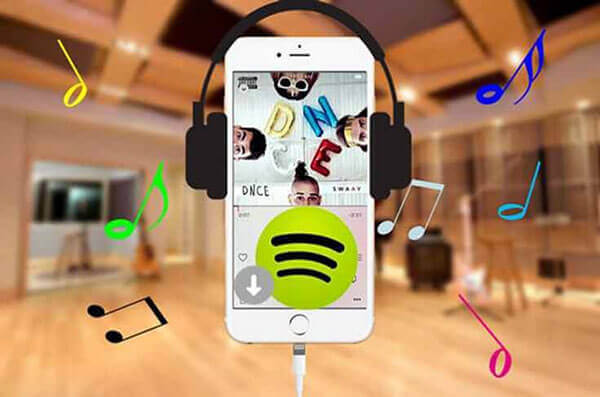 spotify music to iphone