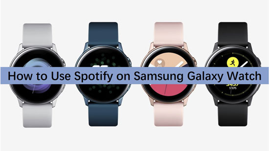 spotify on galaxy watch