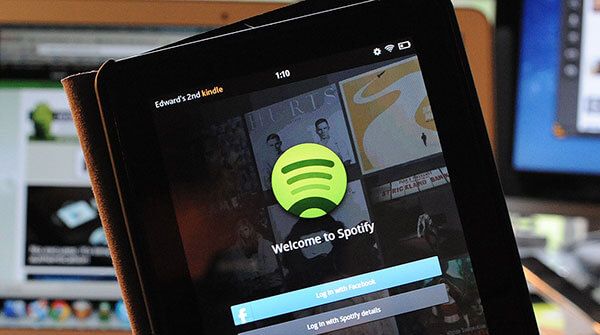 spotify on kindle fire