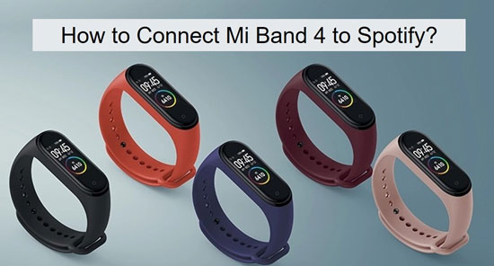 spotify on mi band 4