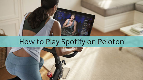 play spotify on peloton